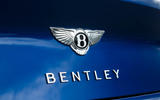 Bentley Continental GT 2018 Autocar road test review boot badge