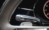 Bentley Flying Spur 2020 road test review - knurled indicator stalks