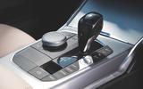BMW 3 Series 320d 2019 Road Test review - centre console