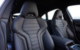 15 BMW i4 M50 2021 first drive review front seats