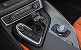 BMW i8 Roadster 2018 review gearstick