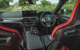 15 BMW M5 CS 2021 RT cabin