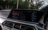 BMW X5 2018 road test review - infotainment music