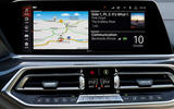 BMW X6 M50i 2019 road test review - infotainment