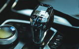 BMW X7 2020 road test review - gearstick