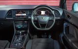 Cupra Ateca 2019 road test review - dashboard