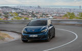 15 Cupra Born 2021 first drive review cornering front