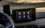 15 dacia sandero tce 90 2021 uk first drive review infotainment
