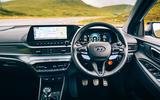 15 Hyundai i20 N 2021 RT dashboard