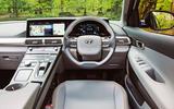 Hyundai Nexo 2019 road test review - dashboard