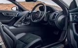 Jaguar F-Type 2020 road test review - cabin