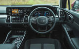 15 Kia Sorento 2021 road test review dashboard