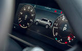 Land Rover Defender 2020 road test review - instruments