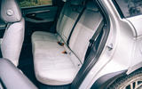 15 Land Rover Range Rover Evoque 2021 road test review rear seats