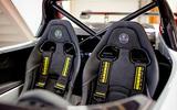 Lotus 3-Eleven 430 review seats