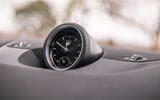 Maserati Levante S GranLusso 2019 road test review - clock