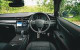 15 Maserati Quattroporte trofeo 2021 RT dashboard