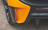 McLaren 600LT Spider 2019 road test review - rear aero