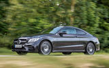 Mercedes-AMG C43 Coupe 2018 road test review on the road left