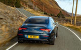 Mercedes-AMG CLA35 2020 road test review - on the road rear