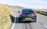 Mercedes-AMG E53 2018 review - cornering rear