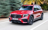 Mercedes-AMG GLB 35 2020 road test review - on the road front