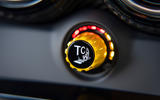 Mercedes-AMG GT Black Series road test review - traction control dial