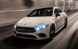 Mercedes-Benz A-Class saloon 2018 review - on the road front