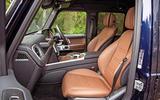 Mercedes-Benz G-Class 2019 road test review - cabin
