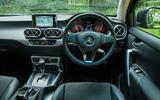 Mercedes-Benz X-Class road test review dashboard
