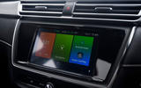 MG 5 SW EV 2020 Road test review - infotainment
