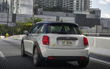 Mini Electric 2020 road test review - on the road rear