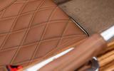 Morgan Aero GT 2018 review - seat stitching