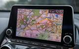 Nissan Juke 2020 road test review - navigation