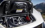 Nissan Leaf 2018 UK review plug socket