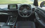 15 Nissan Qashqai 2021 RT dashboard