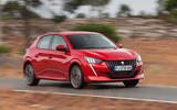 Peugeot 208 2020 road test review - on the road front