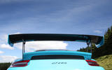 Porsche 911 GT2 RS 2018 road test review spoiler rear