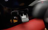 Porsche Taycan 2020 road test review - gear selector