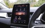 Renault Captur 2020 road test review - infotainment