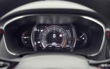 Renault Megane RS 280 2018 road test review instrument cluster