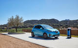 Renault Zoe 2020 road test review - static front