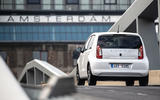 SKoda Citigo-e IV 2020 road test review - on the road rear