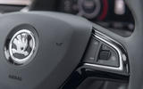 Skoda Kamiq 2019 road test review - steering wheel