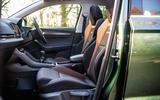 Skoda Karoq Scout 2019 road test review - cabin