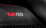 Skoda Kodiaq vRS 2019 road test review - seat details