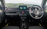 Suzuki Jimny 2018 road test review - dashboard