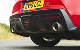 Toyota GR Supra 2019 road test review - exhausts