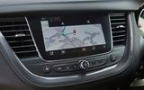 Vauxhall Grandland X Hybrid4 2020 road test review - infotainment