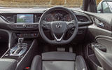 Vauxhall Insignia Sports Tourer GSI review dashboard